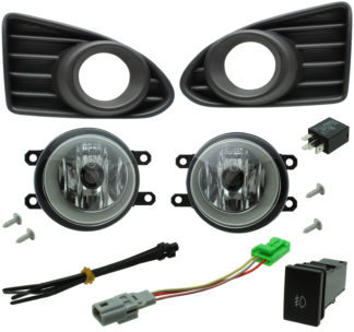 Toyota Scion iQ Halogen Fog Light Kit 2012-2015