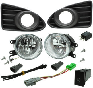 Toyota Scion iQ LED Reflector Fog Light Kit 2012-2015
