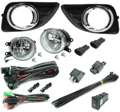 Toyota Camry LED Reflector Fog Light Kit 2010-2011