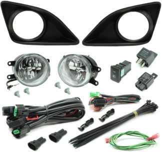 Toyota Corolla LED Reflector Fog Light Kit 2008-2010