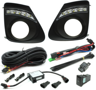 2011-2013 Toyota Corolla LED Daytime Running Light Kit