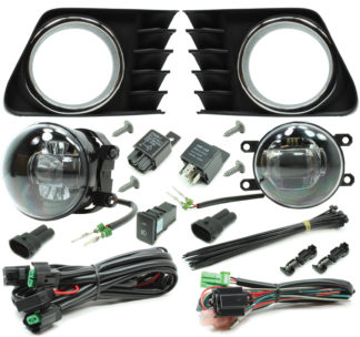 Toyota Prius V LED Projector Fog Light Kit 2012-2014