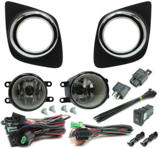Toyota RAV4 Halogen Fog Light Kit 2010-2012