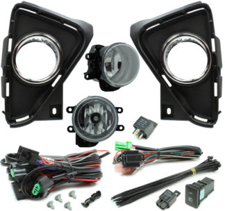 Toyota RAV4 Halogen Fog Light Kit 2016-2018