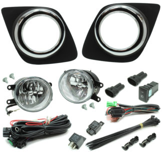 Toyota RAV4 LED Reflector Fog Light Kit 2010-2012