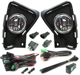 Toyota RAV4 LED Reflector Fog Light Kit 2016-2018