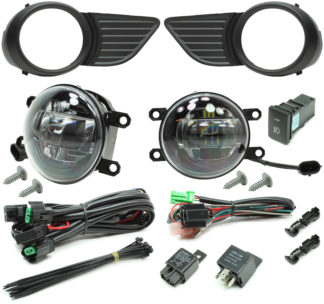 Toyota Sienna LED Projector Fog Light Kit