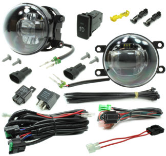 Toyota Tacoma LED Projector Fog Light Kit 2012-2015