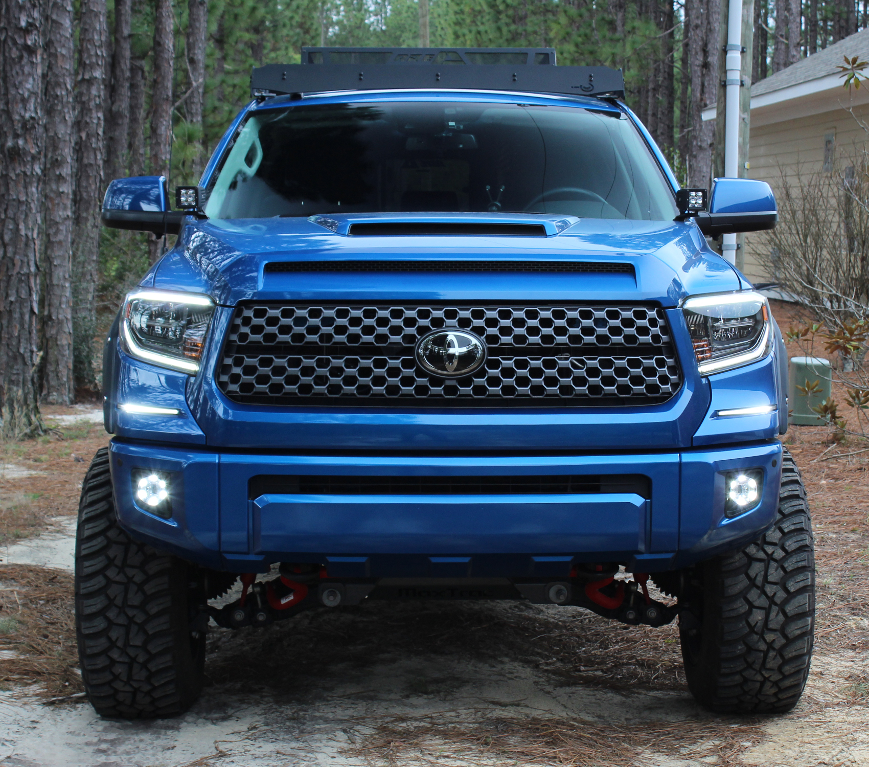 Toyota Tundra LED DRL Under Headlamp