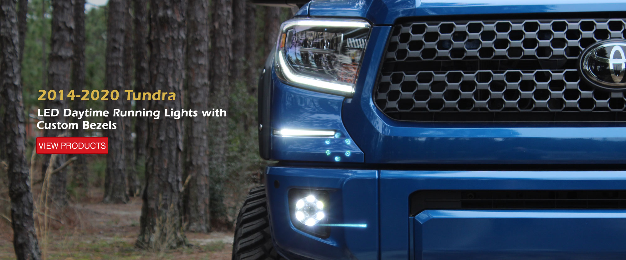 2014-2018 Toyota Tundra LED DRL System