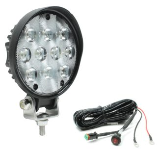 266-635WH 4.5-Inch Round LED Work Lamp