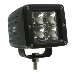 "3.5"" LED Cube Light with Harness and Switch"