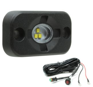 Auer Automotive 266-663WH Surface-Mount LED Scene/Flood Lamp