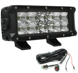 Auer Automotive 266-69508WH 8-Inch LED Light Bar Product Features