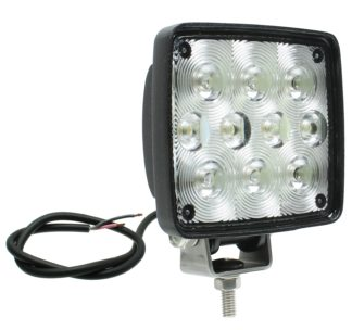 Auer Automotive 266-655WH-2 Dual 4.5-Inch Square LED Work Lamp