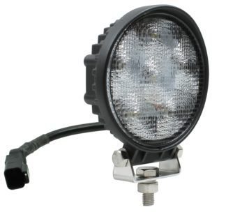 Auer Automotive 266-675WC Dual 4.5-Inch Square LED Work Lamp with DEUTSCH Connector