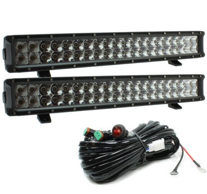 Auer Automotive 266-69522WH-2 Dual 22-Inch LED Light Bar