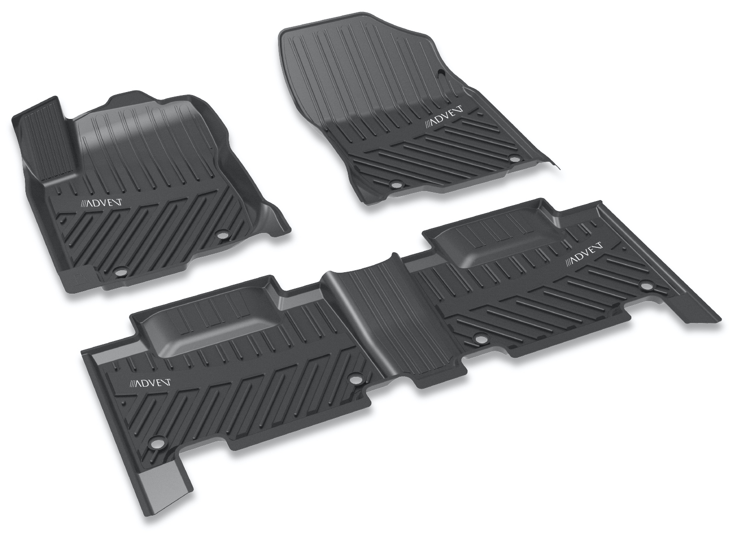 Image of Toyota Camry All-Weather Floor Mat Kit