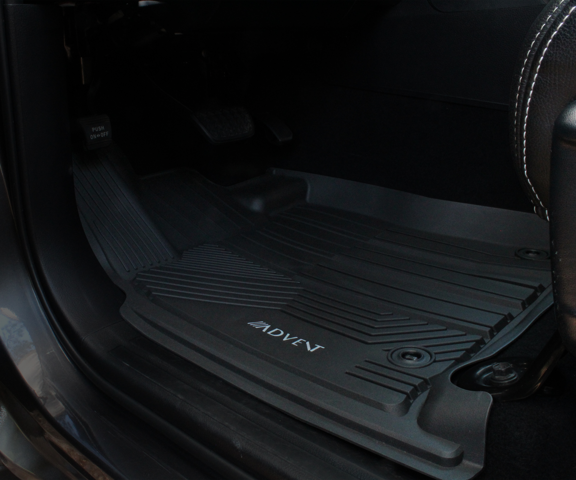 Image of Toyota Tundra Driver-Side All-Weather Floor Mat