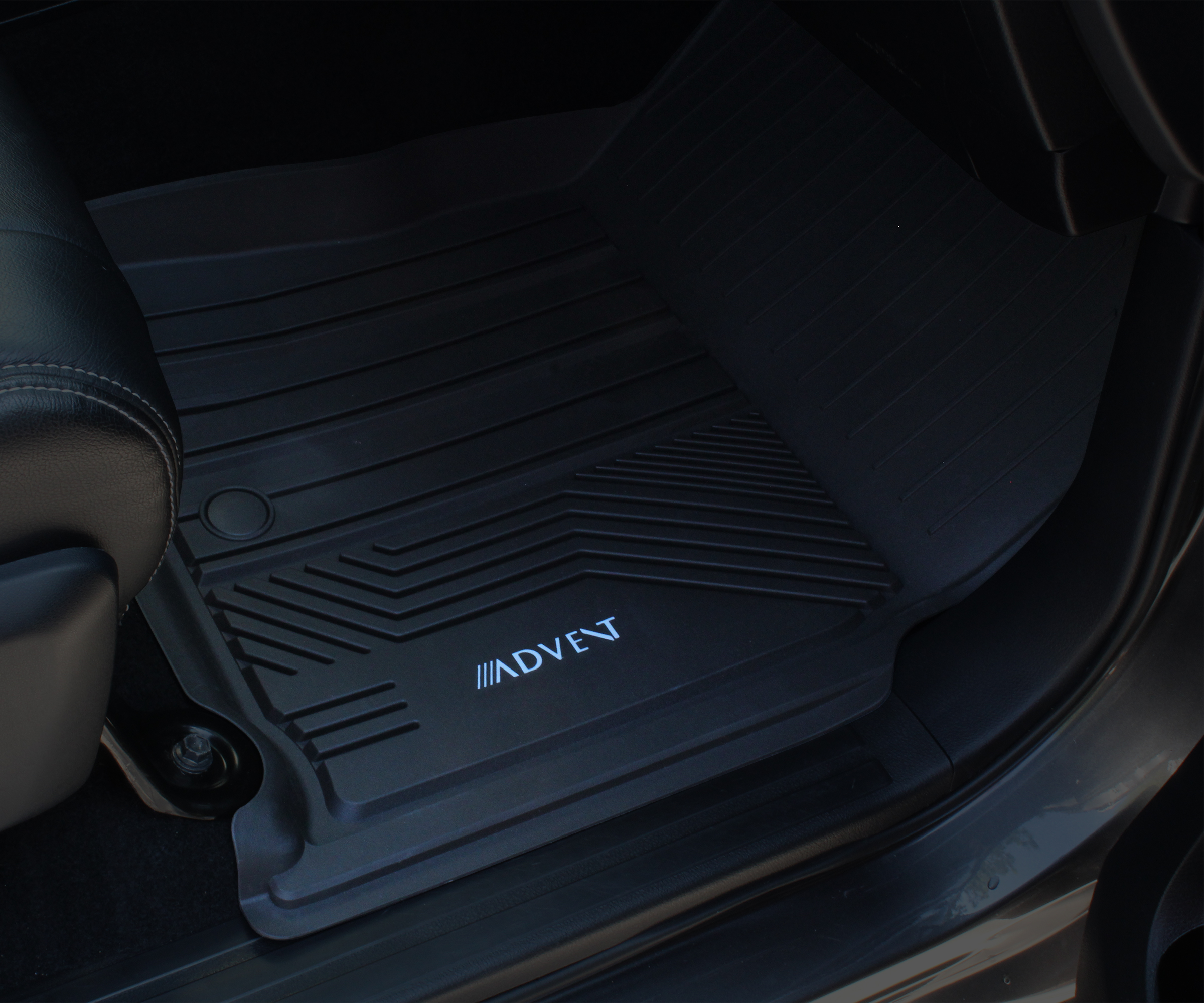 Image of Toyota Tundra Passenger-Side All-Weather Floor Mat