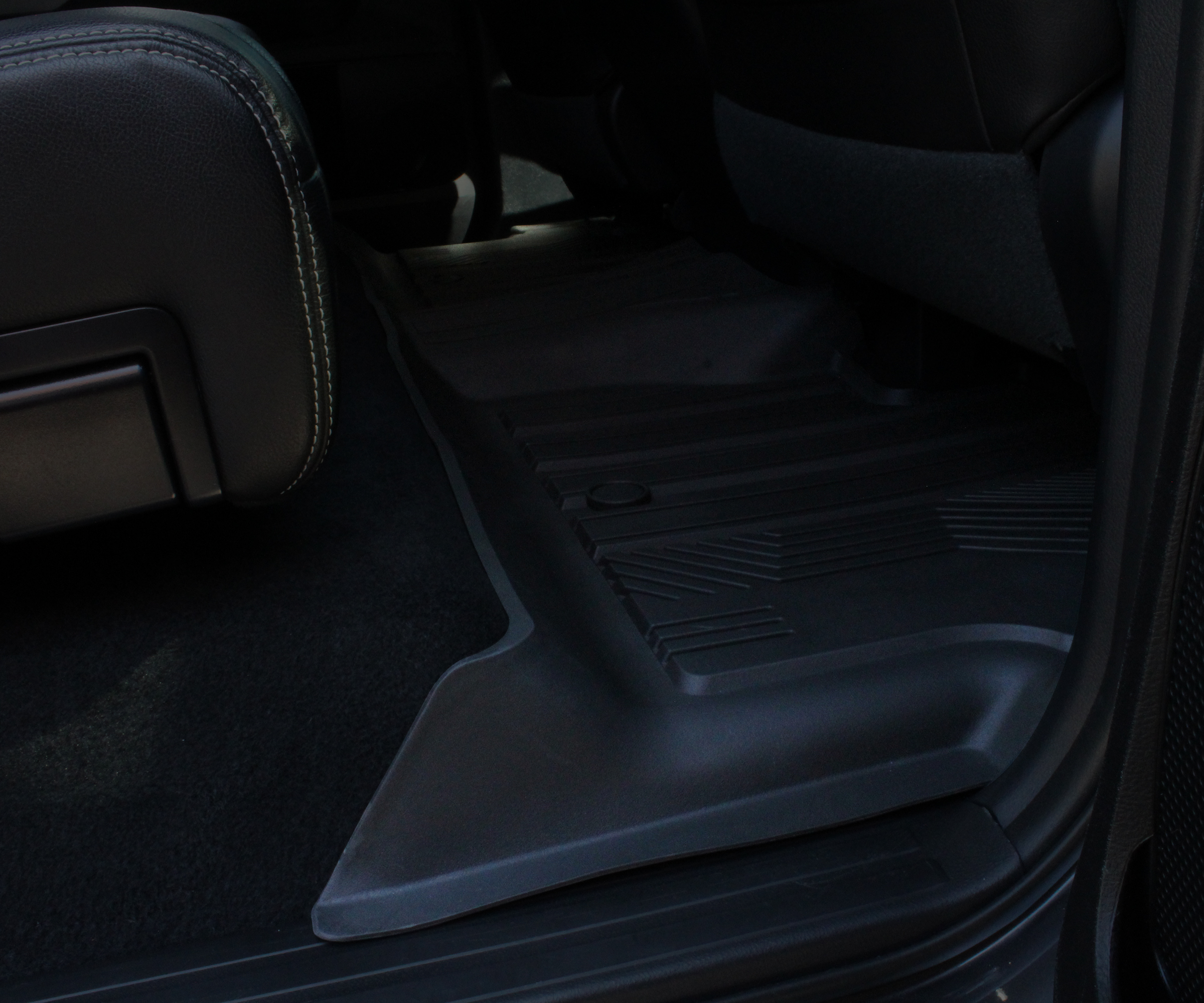 Image of Toyota Tundra Rear Seat All-Weather Floor Mat