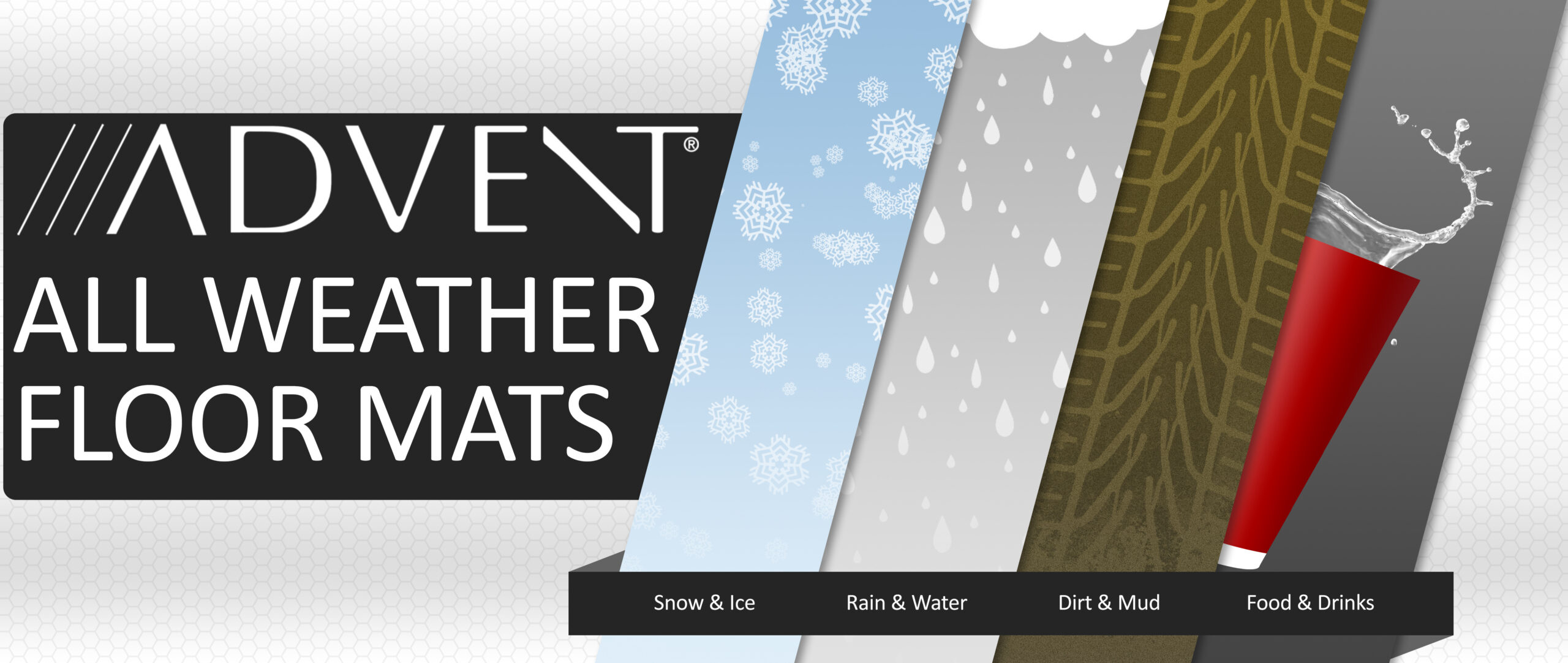 All-Weather Floor Mats from Auer Automotive and Advent